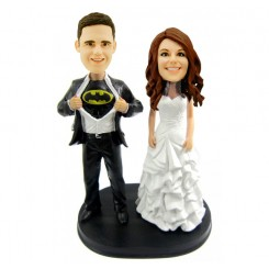 batman wedding bobblehead personalised