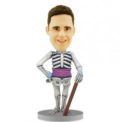bone man custom bobblehead