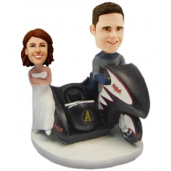 custom batman wedding bobblehead