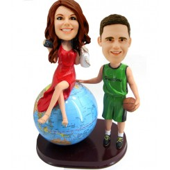 custom bobbleheads couple