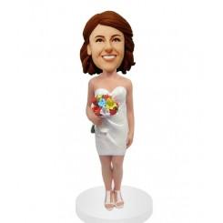 custom bridesmaid bobble heads