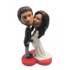 custom kiss wedding bobbleheads