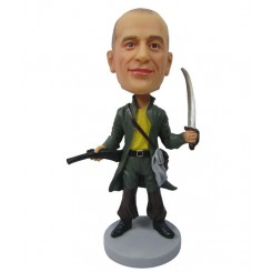 custom pirate bobblehead