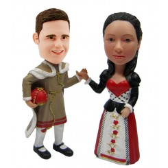 custom special ethnic clothing bobblehead