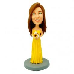 customized bridesmaid bobble heads