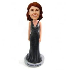 customized bridesmaid bobblehead