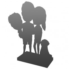 fully custom family bobbleheads