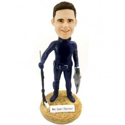 personalised diving and fishing bobbleheads