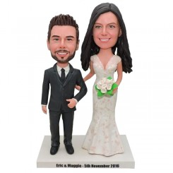 personalized wedding bobble heads