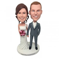 personalized wedding bobblehead