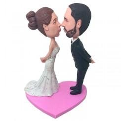 personalized wedding couple bobblehead