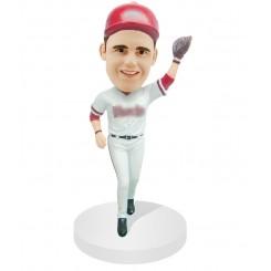 custom baseball bobblehead outfield