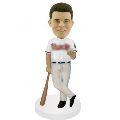 custom baseball casual fans bobblehead