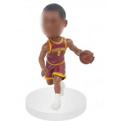 custom basketball crossover dribble bobble head doll