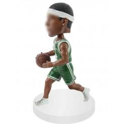 custom basketball driving bobblehead doll