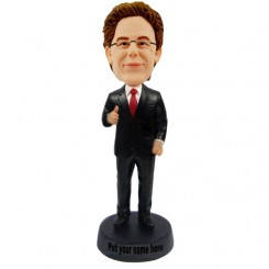 custom businessman bobblehead