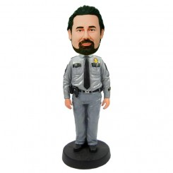 custom cop bobblehead doll