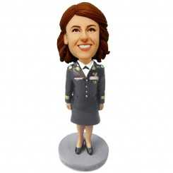 custom female air force bobblehead