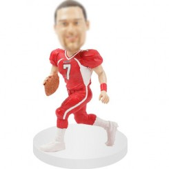 custom football bobblehead quarterbacks
