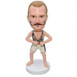 custom funny casual man bobblehead