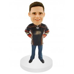 custom hockey male fans bobblehead