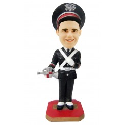 custom honour guard bobblehead