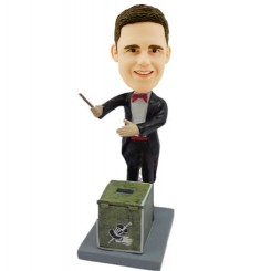 custom magician with box bobblehead