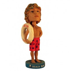 custom male lifeguard with life ring bobblehead