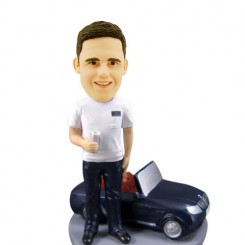 custom mini car bobblehead