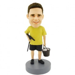 custom painter man bobblehead