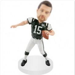 custom quarterbacks football bobble head doll