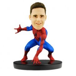custom spiderman bobble head