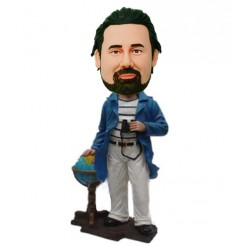 custom traveler bobblehead