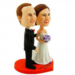 custom wedding anniversary bobblehead