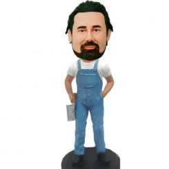 custom worker bobble heads