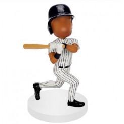 customised baseball bobblehead hitter
