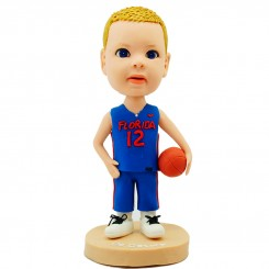 customised basketball kid fan bobblehead
