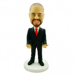 customised business bobblehead for arranging rd