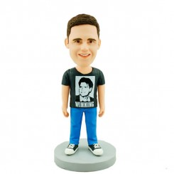 customised usal man bobble head doll