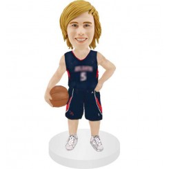 customized basketball males fans bobblehead