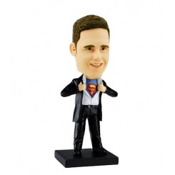 customized bobble head clark kent