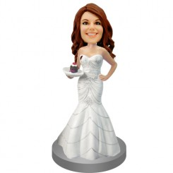 customized bridesmaid bobble head