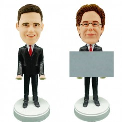 customized card holder bobblehead
