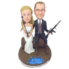 customized couple bobblehead