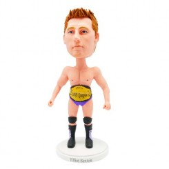 customized wwe champion bobblehead