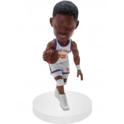 dragging customized basketball bobblehead