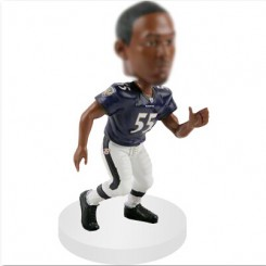 linebacker custom football bobble head dolls