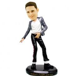 michael jackson classic dancing posture bobblehead