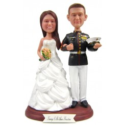 military officer custom bobbleheads