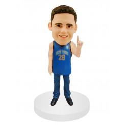 number one male fan basketball bobblehead